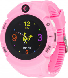 Atrix Smart watch iQ700 Cam Touch GPS Pink