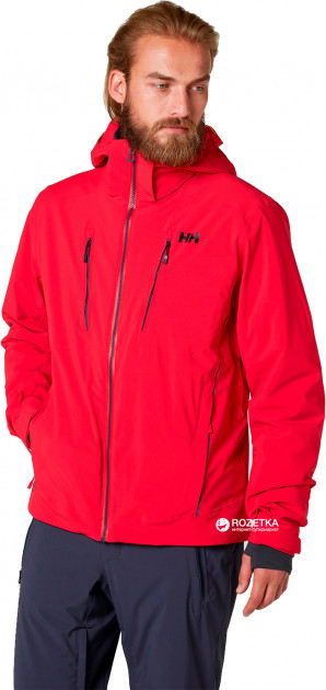 Куртка Helly Hansen Alpha 3.0 Jacket 65551-110 S Красная