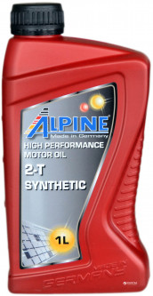 Моторное масло Alpine 2T Synthetic 1 л (4003774000319)