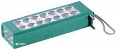 Фонарь Yajia 1018TP-3LED Green