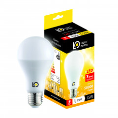 Cветодиодная лампа Light Offer LED A68 15W E27 4000K 1700Lm (LЕD - 15 - 022)