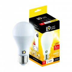 Cветодиодная лампа Light Offer LED A80 20W E27 4000K 2200Lm (LЕD - 20 - 022)