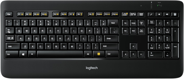 LOGITECH WIRELESS ILLUMINATED KEYBOARD K800 WINDOWS VISTA DRIVER DOWNLOAD