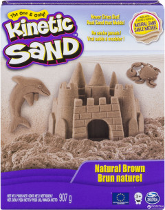 Кинетический песок Wacky-tivities Kinetic Sand Original Натуральный цвет (71400)