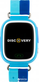 Смарт-годинник Discovery iQ4000 Touch GPS Blue