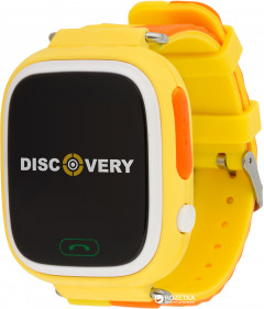 Discovery iQ4000 Touch GPS Yellow