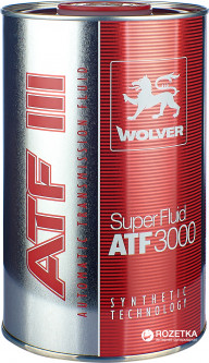 Моторное масло Wolver Super Fluid ATF 3000 1 л (4260360941290)
