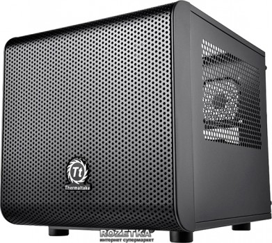 Корпус Thermaltake Core V1 Black (CA-1B8-00S1WN-00)