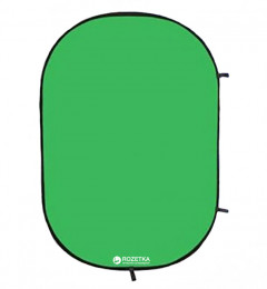 Фон тканевый Falcon Chroma Key Green на пружине 158х193 см (RBP-6276/BCP-10)