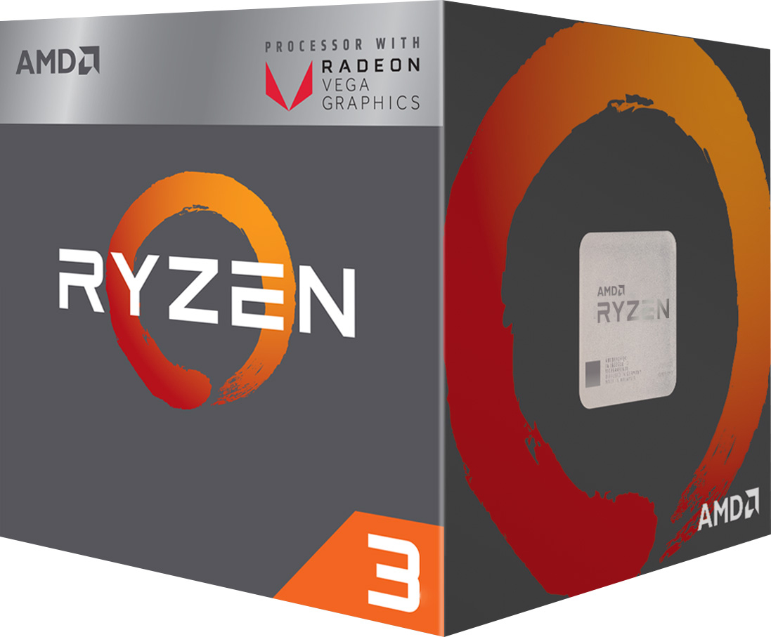 Процессор AMD Ryzen 3 2200G 3.5GHz/4MB sAM4 BOX