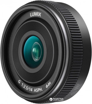 Panasonic Lumix G 14mm f/2.5 II ASPH Black (H-H014AE-K)