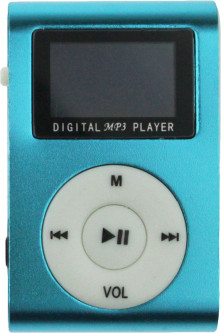 Плеер TOTO TPS-05-FM With display&Earphone Mp3 Blue