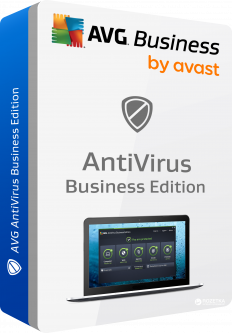 Антивирус AVG Anti-Virus Business Edition для 90 ПК на 1 год (avb.90.4.0.12)