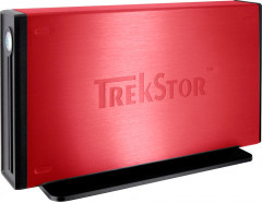 Жесткий диск Trekstor maxi m.ub 500Gb DSMMUB-S-SU-a 3.5 USB 2.0 External Red Refurbished