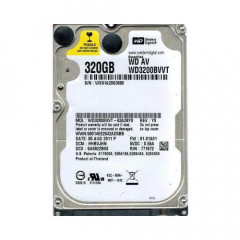 Жесткий диск Western Digital AV-25 320GB 5400rpm 8MB WD3200BVVT 2.5 SATA II Refurbished