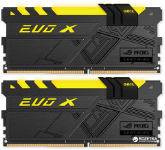 Оперативная память GeIL DDR4-3000 16384MB PC4-24000 (Kit of 2x8192) Evo X ROG (GREXR416GB3000C15ADC)