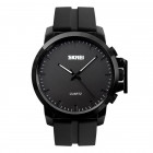 Годинник Skmei 1208 Black Dail Silicone Band BOX (1208BOXBKDS)