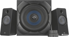 Trust GXT 648 ZELOS 2.1 Gaming Speaker Set Black (TR22196)