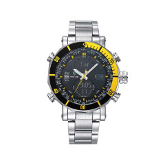 Часы Weide Yellow WH5203-4C SS (WH5203-4C)