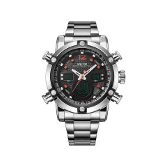 Часы Weide Red WH5205-3C SS (WH5205-3C)