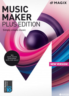 MAGIX Music Maker Plus Edition для 1-4 ПК (электронная лицензия) (ANR007920ESD)