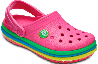 Крокси Crocs CB Rainbow Band Clog K 205205-G