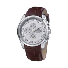 Часы Megir Silver White Brown MG5003 (ML5003GBN-7)