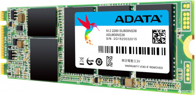 ADATA Ultimate SU800 512GB M.2 2280 SATA III 3D TLC (ASU800NS38-512GT-C)