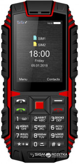 Sigma mobile X-treme DT68 Black/Red