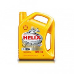 Моторное масло Shell Helix HX6 10W-40 4 л SHELL