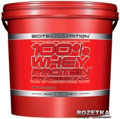 Протеин SN 100% Whey Protein Prof 5000 г Chocolate-Raspberry (728633106295)