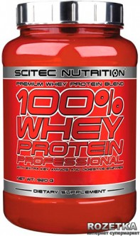 Протеин SN 100% Whey Protein Prof 920 г Chocolate-Raspberry (728633101689)