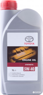 Масло моторное Toyota ENGINE OIL 5W-40 (08880-808xx)