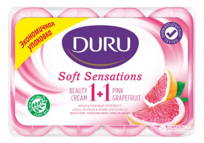 Мило Duru Soft Sensations Грейпфрут 4 x 90 г (8690506481643)