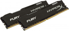 Оперативная память HyperX DDR4-2933 32764MB PC4-23500 (Kit of 2x16384) Fury Black (HX429C17FBK2/32)