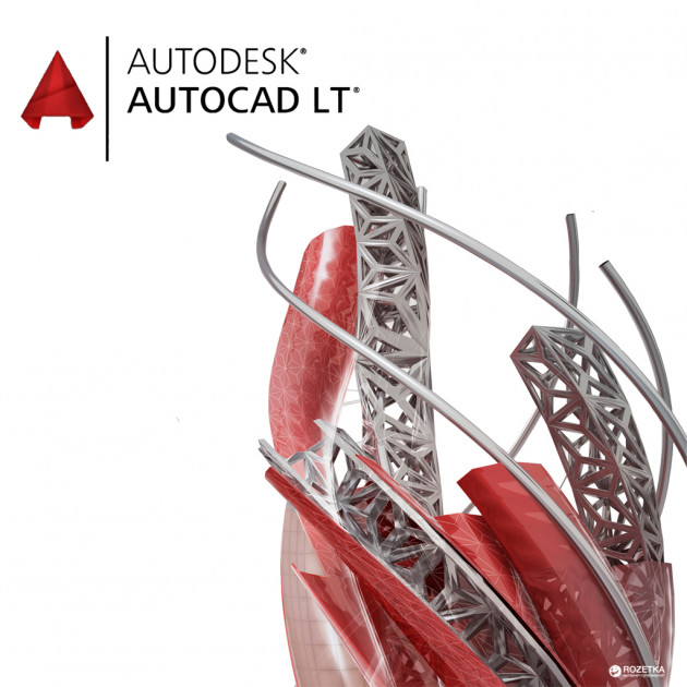 Autodesk AutoCAD LT Commercial Single-user Quarterly Subscription Renewal (электронная лицензия) (057I1-006414-T772)