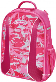 Рюкзак школьный Herlitz Be.Bag AIRGO Camouflage Girl (50015092)