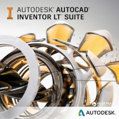 AutoCAD Inventor LT Suite 2019 Commercial New Single-user ELD Annual Subscription (электронная лицензия) (596K1-WW8695-T548)