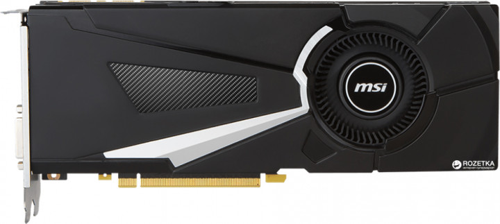 MSI PCI-Ex GeForce GTX 1070 Ti Aero 8G GDDR5 (256bit) (1607/8008) (DVI, HDMI, 3 x Display Port) (GeForce GTX 1070 Ti AERO)