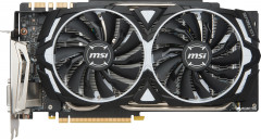 MSI PCI-Ex GeForce GTX 1080 Ti Armor OC 11GB GDDR5X (352bit) (1531/11016) (DVI, 2 x HDMI, 2 x DisplayPort) (GeForce GTX 1080 TI ARMOR)