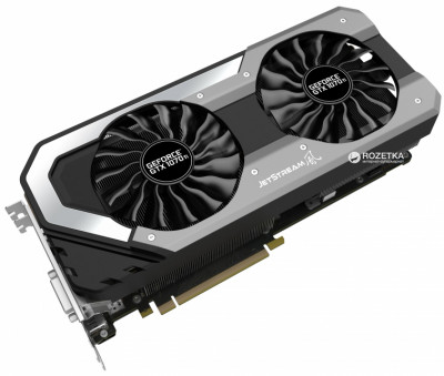 Palit PCI-Ex GeForce GTX 1070 Ti Super JetStream 8GB GDDR5 (256bit) (1607/8000) (DVI, HDMI, 3 x DisplayPort) (NE5107TP15P2-1041J)