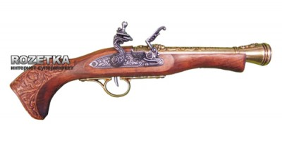 Макет пістолета Flintlock blunderbuss, 18 століття, Denix (01/1110L)