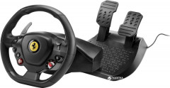 Проводной руль Thrustmaster T80 Ferrarri 488 GTB Edition PC/PS4 Black (4160672)