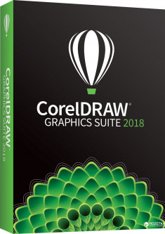 CorelDRAW Graphics Suite 2018 Single User Business License (электронный ключ) (LCCDGS2018ML)