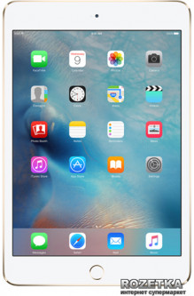 Планшет Apple A1550 iPad mini 4 Wi-Fi 4G 128GB (MK8F2, MK782) Gold