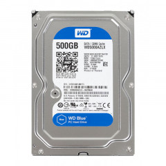 Жесткий диск Western Digital Blue 500GB 7200rpm 32MB WD5000AZLX 3.5 SATAIII Refurbished