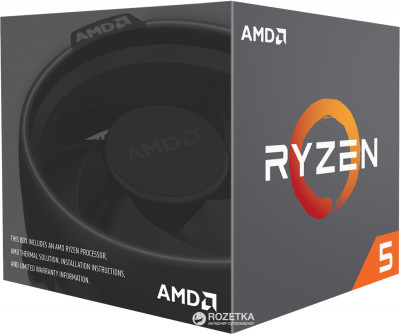 Процесор AMD Ryzen 5 2600 3.4GHz/16MB (YD2600BBAFBOX) sAM4 BOX