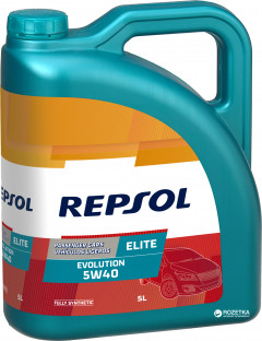 Моторное масло Repsol Elite Evolution 5W40 5 л (RP141J55)