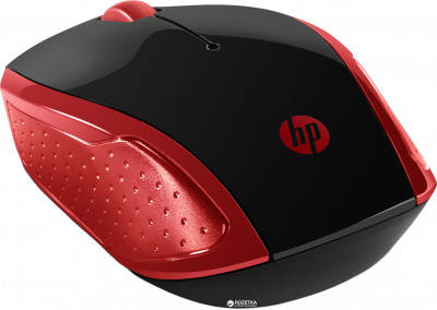 Миша HP 200 Wireless Red (2HU82AA)