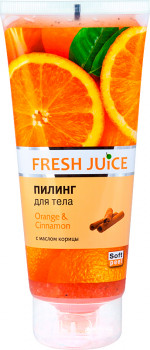 Пілінг для тіла Fresh Juice Orange&Cinnamon 200 мл (4823015936029)